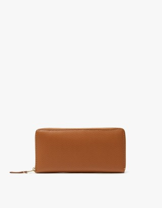 Comme des Garcons Women's Luxury Leather Line SA0110LG Wallet in Beige