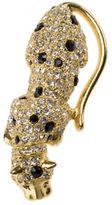 Kenneth Jay Lane Jet Spotted Goldtone Leopard Pin