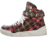 Givenchy Plaid Tyson Sneakers