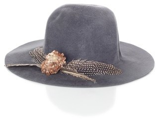 Littledoe Grey Crystal Storm Hat