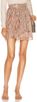 IRO Joucas Skirt in Light Pink | FWRD
