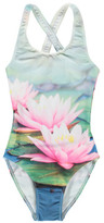 Finger In The Nose Sale - Olivia Water Lily 1 Piece Swimsuit