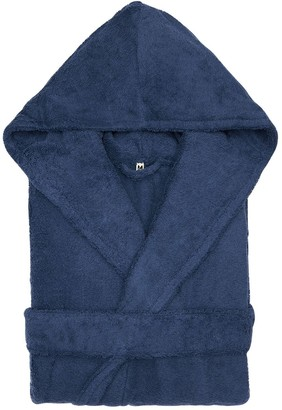Tekla Hooded Organic Cotton Bathrobe