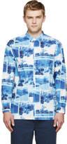 Visvim Blue Dry Lakes Rider Shirt