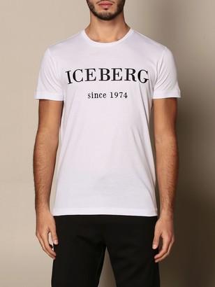 Iceberg T-shirt With Tone-on-tone Logo