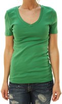 J.Crew J. Crew Women's Short Sleeve V-Neck Basic T-Shirt -S