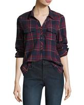 Soft Joie Antolina Plaid Button Front Shirt