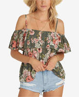 Billabong Juniors' Ruffled Off-The-Shoulder Top
