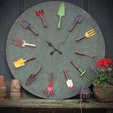 Bed Bath & Beyond Garden Tools Wall Clock