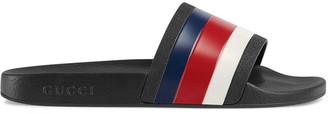 Gucci Rubber slide sandals