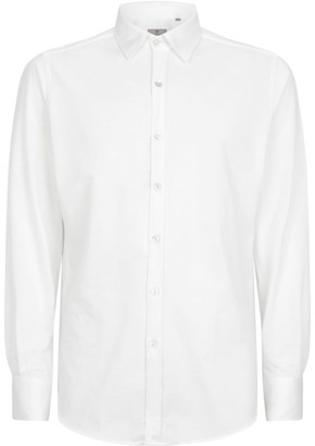 Canali Textured Cotton Shirt