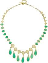 Karen Kane Sky and Sea Teardrop Statement Collar Necklace