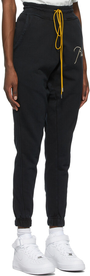 Thumbnail for your product : Rhude SSENSE Exclusive Black Logo Lounge Pants