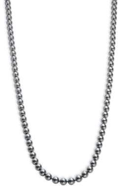 Nadri 8MM Three-Row Simulated Faux Pearl Necklace- 30 in.