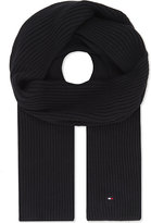 Tommy Hilfiger Pima cotton-cashmere blend scarf