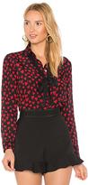 RED Valentino Heart Print Shirt
