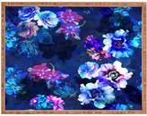 Deny Designs Le Fleur Large Rectangular Tray