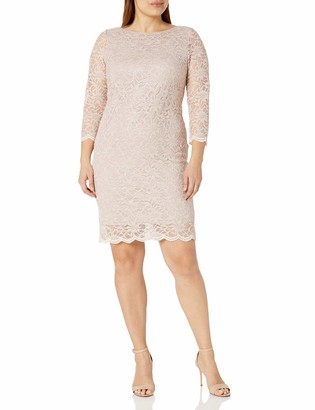 Tiana B T I A N A B. Women's Plus Size lace Sheath Dress