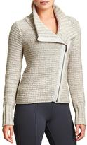 Athleta Chill Textured Sweater Jacket