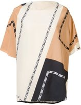 Loewe boxy shortsleeved blouse - women - Silk - One Size