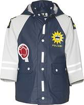 Playshoes Boys Waterproof Police Raincoat