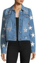 Bagatelle Star-Patched Denim Jacket