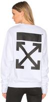Off-White Arrow Crewneck Sweatshirt