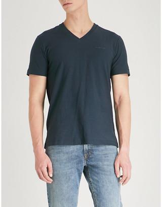 Diesel T-ranis cotton-jersey T-shirt