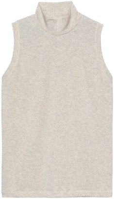 Banana Republic Ribbed Mock-Neck Tank