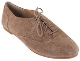 Sole Society As Is Suede Oxfords - Elena