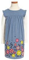 Tea Collection Toddler Girl's Mackintosh Mighty Dress
