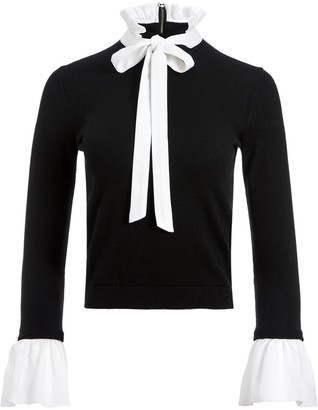 Alice + Olivia Pussy Bow Blouse