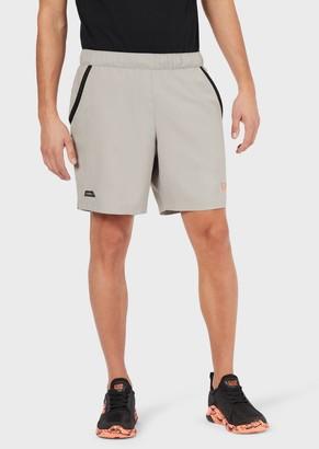 Ea7 Shorts In Ventus 7 Technical Fabric