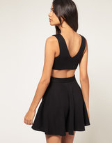 Asos Skater Dress with Open Back