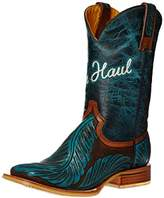 Tin Haul Shoes Women's Feathers Western Boot