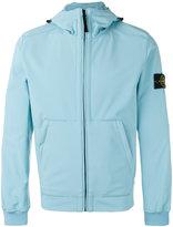 Stone Island hooded shell jacket - men - Polyester/Spandex/Elastane - XXL