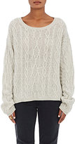 Nili Lotan Women's Holly Cashmere Cable-Knit Sweater-GREY