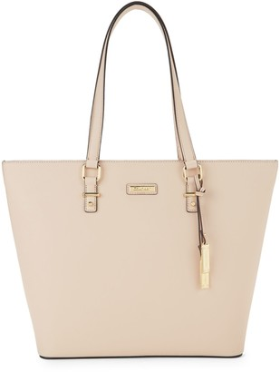 Calvin Klein Saffiano Leather Wing Tote