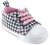 Luvable Friends Girl's Print Canvas Sneaker Casual Sneaker