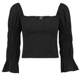 Dorothy Perkins Womens Lola Skye Black Bustier Top, Black