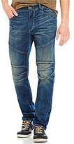 True Religion Rocco Relaxed Skinny Stretch Moto Jeans