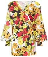 ATTICO floral print short dress