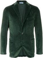 Boglioli velvet three button jacket