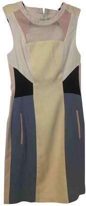 Jonathan Saunders Multicolour Silk Dress for Women