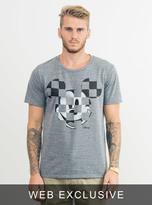 Junk Food Clothing Ckecker Mickey Tee-steel-xxl