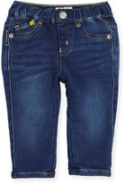 Armani Junior Super Soft Denim Skinny Jeans, Blue, Size 12M-3