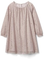 Gap Shimmer tulle shift dress