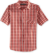 Sean John Men's Short-Sleeve Check Shirt