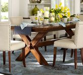Pottery Barn Toscana Extending Dining Table, Tuscan Chestnut