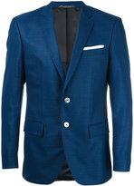 HUGO BOSS button up blazer - men - Cupro/Virgin Wool - 48